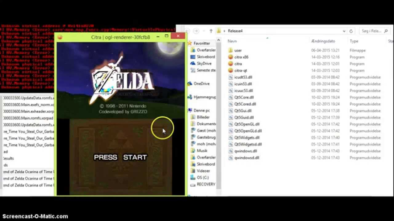 TUTORIAL] How to use 3ds citra emulator + decrypt 3ds games