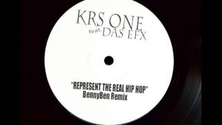 "KRS One (feat. Das EFX)  ""Represent The Real Hip Hop"" [BennyBen Remix]"