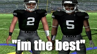 """""""WHAT MY DAD DID WAS WHAT HE DID, BUT  IM THE BEST"""" NCAA Football 06 - PCU the Series ep1"""