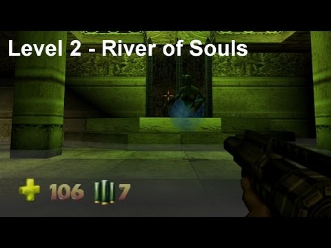 Turok 2 - Seed of Evil: Level 2 - River of Souls (Speedrun) [4K]