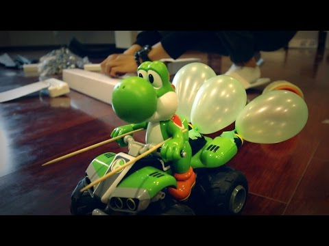 Mario Kart Balloon Challenge IRL
