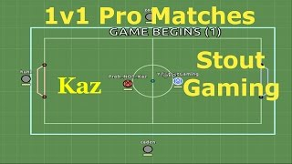 Dangerously Close! 1v1 Pro Matches : Kaz : Myball.io