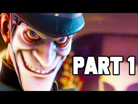 We Happy Few Gameplay Walkthrough Part 1 - DRUGS AND DEMONS!! (PC 1080p 60fps