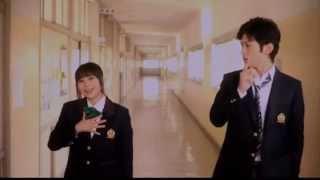 映画「学校の階段」のメンバー紹介のラップシーンです。