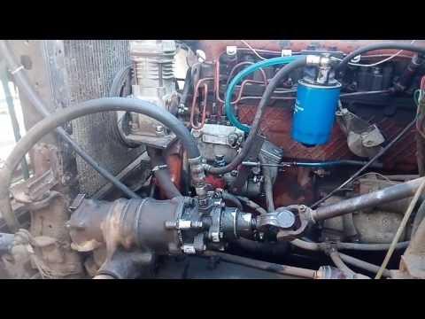 Установили скоростной редуктор на ЗИЛ с смдовским двигатель, и так по мелочам....