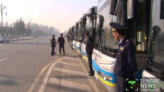 Есимов: Все больше алматинцев предпочитают общественный транспорт