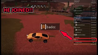 (BADCC JOINED) EXPLOITRS GET THEIR MONEY TAKEN AWAY|| ROBLOX JAILBREAK