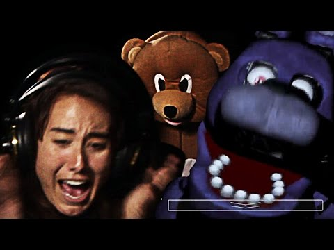 Watch Adults Get Scared Silly Playing Five Nights at Freddy's