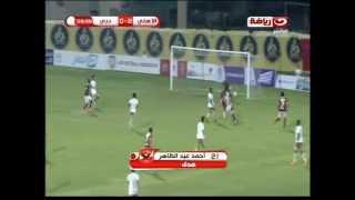 #معسكر_الأهلي |  أحمد عبد الظاهر يضع هدف رائع للنادي الأهلي فى مرمي دبي