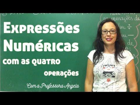Expressões Numéricas com as Quatro Operações - Vivendo a Matemática com a Professora