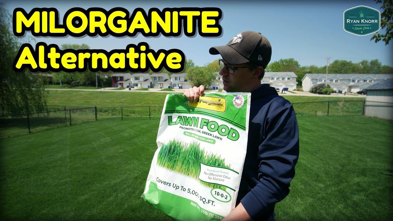 Milorganite Alternative Purely Organic Lawn Food Youtube
