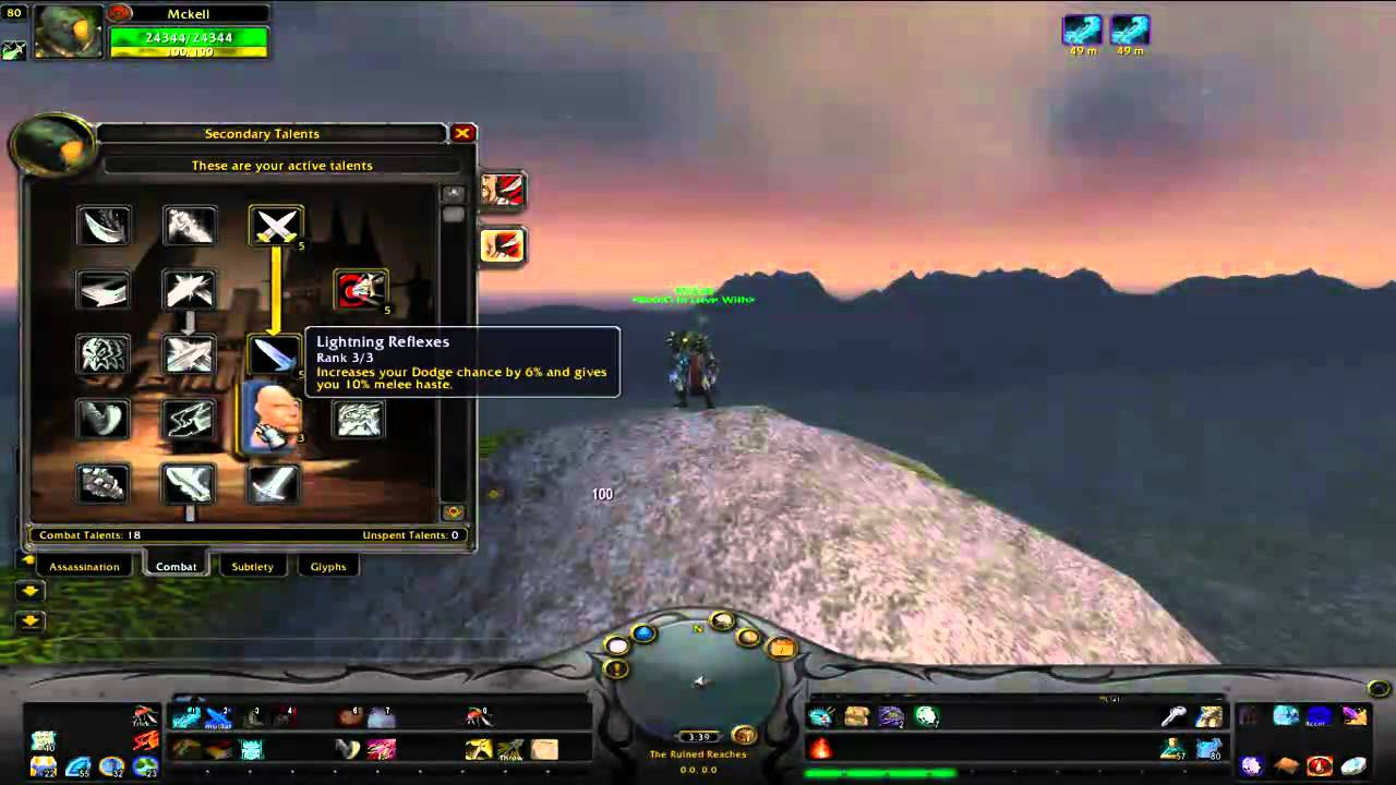 Pvp subtlety rogue guide, wow wotlk 3. 3. 5a gnarly guides.