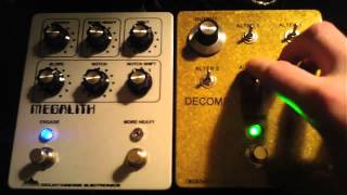 Mountainking Electronics Megalith and Decomposer - BASS Demo