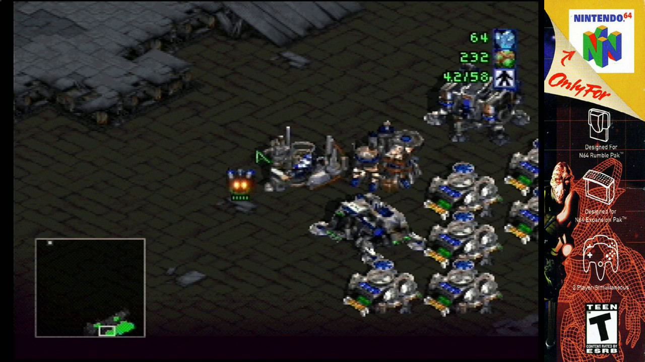 Oase Terren | N64 Starcraft 64 Terran Campaign Mission 10 S Video Youtube