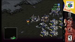 (N64) Starcraft 64 Terran Campaign mission 10 S-video