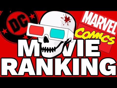 Top 50 Marvel + DC Movies Ranked LIVE!