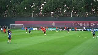 Тренировка сборной Испании  в Краснодаре