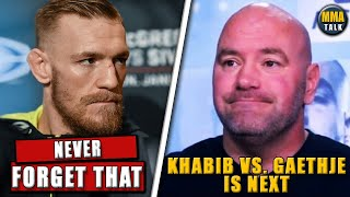 Conor McGregor Reacts to Dana White announcing Gaethje vs Khabib, Tony responds to Conor, Joe Rogan