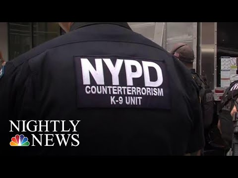 Tenth NYPD Officer Dies By Suicide | NBC Nightly News