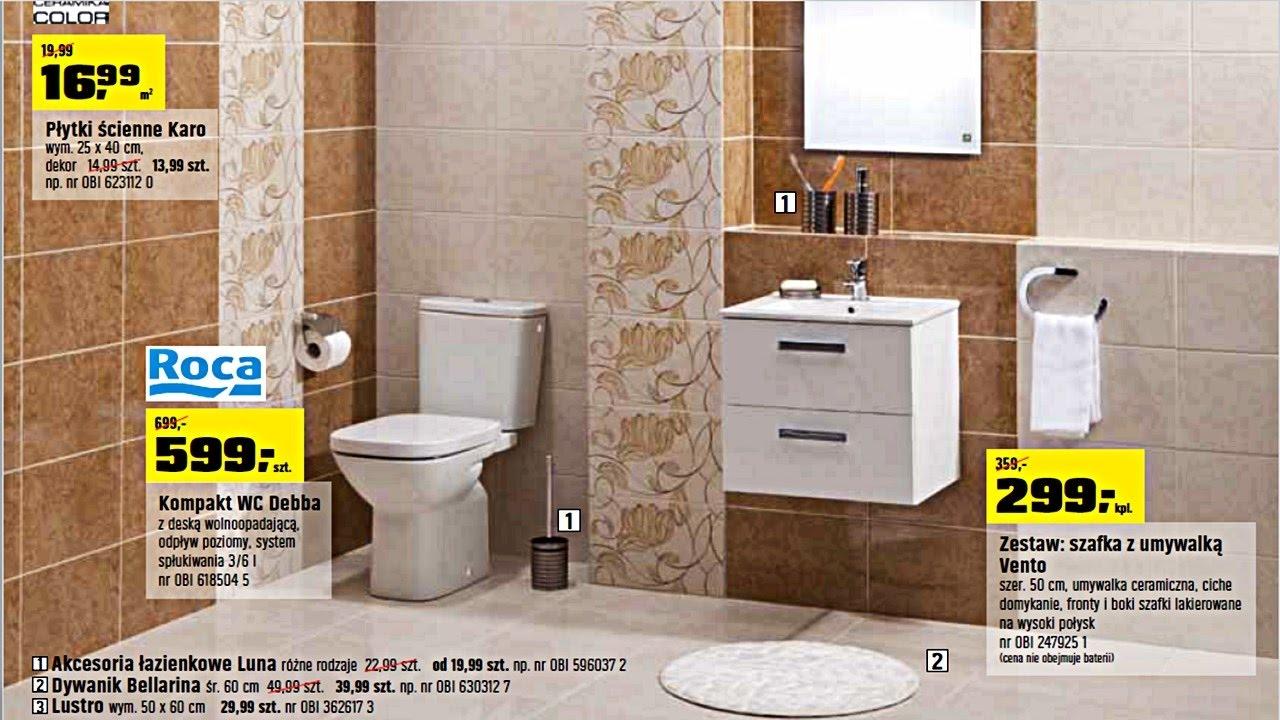 Nowa Gazetka Obi Od 04112016 łazienka Marzeń