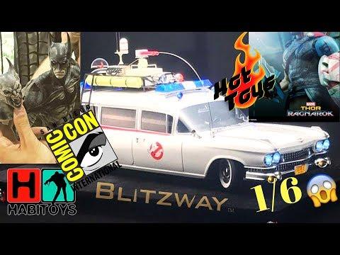 LOCURA PRE SAN DIEGO COMIC-CON 2017!! Hot Toys, Sideshow, Blitzway HABI TOYS