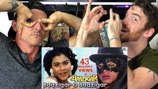Baazigar O Baazigar Song REACTION! | Baazigar | Shahrukh Khan
