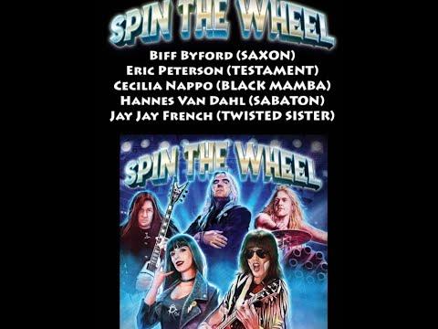 new band Spin The Wheel (Testament/Saxon/Sabaton) new song Spin The Wheel debuts!