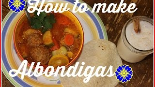 How To Make Albondigas Or Mexican Meatball Soup