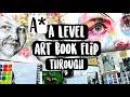A* A Level Fine Art Book Flip Through