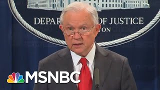 President Donald Trump Tweets That AG Jeff Sessions Has Resigned | Katy Tur | MSNBC