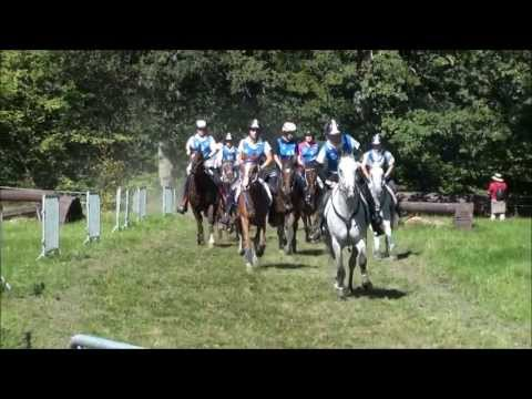 FEI European Championship Endurance YR & J Mont le Soie
