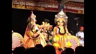 Yakshagana Mandarthi mela... KUSHA LAVA....lavane ba ba