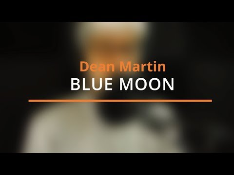Blue Moon - Cover Backing Track