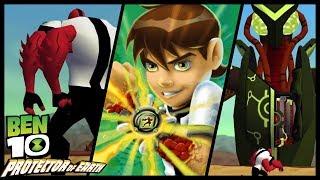 Ben 10: Protector of Earth Walkthrough Part 1 (Wii, PS2, PSP) Level 1 : Grand Canyon