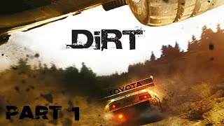 Colin McRae DiRT - Walkthrough Part 1 (PC)