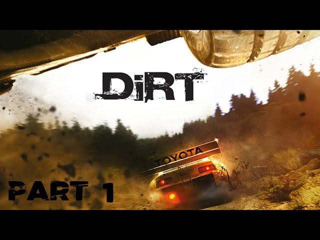 Colin McRae DiRT - Walkthrough Part 1 (PC)