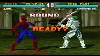 Tekken 3 SpiderMan