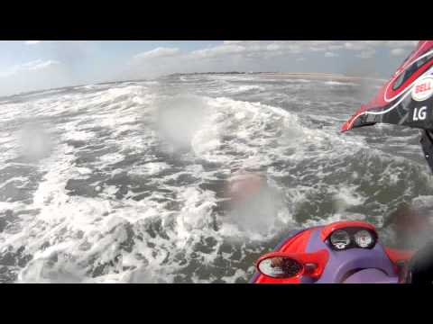 Repeat 1998 seadoo gsx limited 951 wave jumping by Mike Q