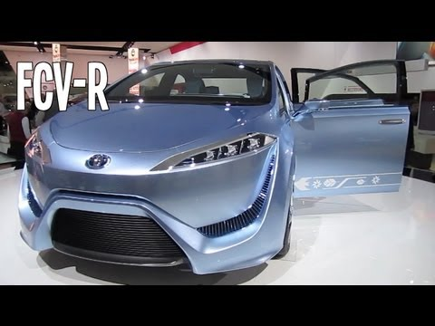 TOYOTA FCV-R CONCEPT FEATURES