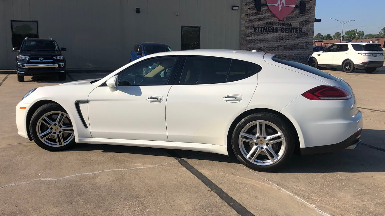 2017 Porsche Panamera - Is It A GOOD USED Car To Buy?