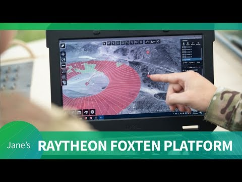 Raytheon's FoxTen Open Intelligence Platform for the U.S. Army (AUSA 2018)