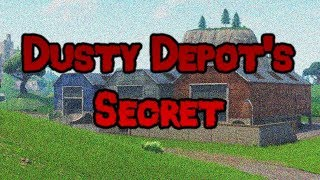Fortnite Creepypasta: Dusty Depot's Secret