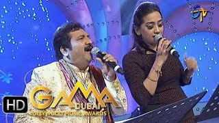 Vana Jallu Gilluthunte Song - Mano,Kalpana Performance in ETV GAMA Music Awards 2015- 6th March 2016