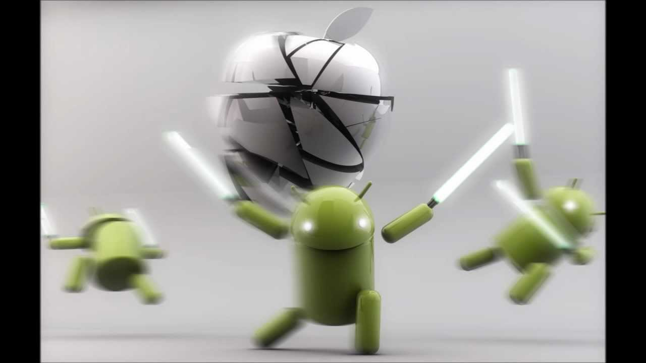 android vs apple wallpapers pack 1 youtube
