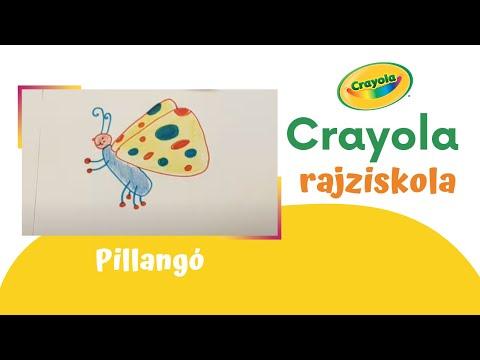 Crayola rajziskola: Pillangó 🦋