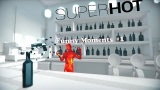 Weird Creepy Red Guys! SUPERHOT Funny Moments #1