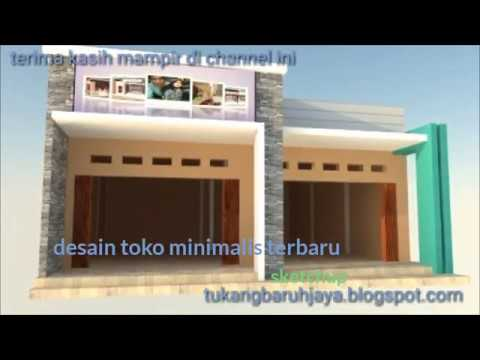 Desain Toko Minimalis 1 Lantai Youtube