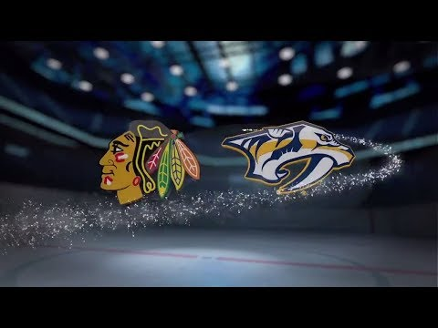 Chicago Blackhawks vs Nashville Predators - November 28, 2017 | Game Highlights | NHL 2017/18. Обзор