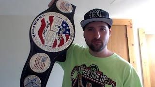 WWE John Cena U.S. Spinner United States Championship Rare (John Cena 2005) John Cena WWE SHOWCASE