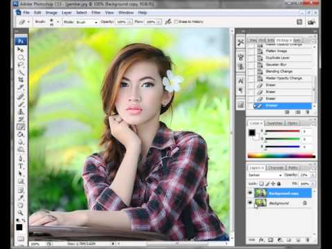 Tips Edit Photoshop Foto Model  YouTube